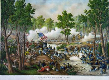 Battle of Spotylvania from www.nps.gov