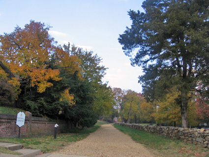 The Famous Sunken Road at Fredericksburg.