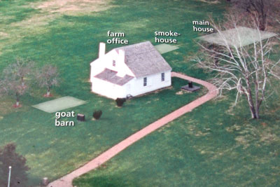 Aerial Photo of Jackson Shrine