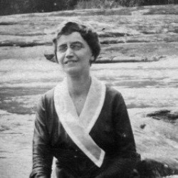 Photo of Edith Rose Tench sitting