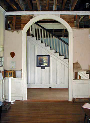 Entrance hall at Ellwood