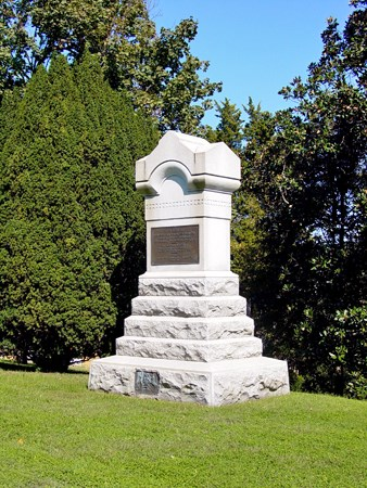 127th Pennsylvania Monument