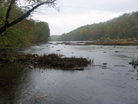 Banks Ford on the Rappahannock River