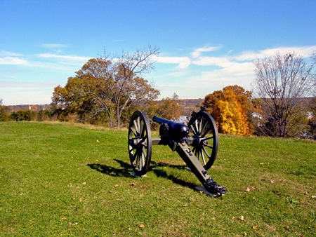 Cannon on Marye's Heights