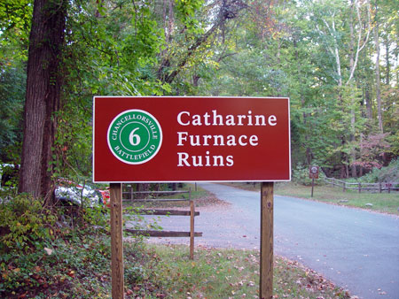 Catharine Furnace Tour Stop