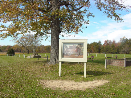 Chancellorsville House Site