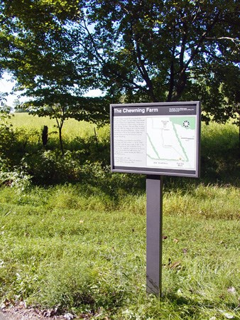 Chewning Trail Sign