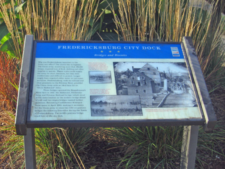 Interpretive Sign at City Dock