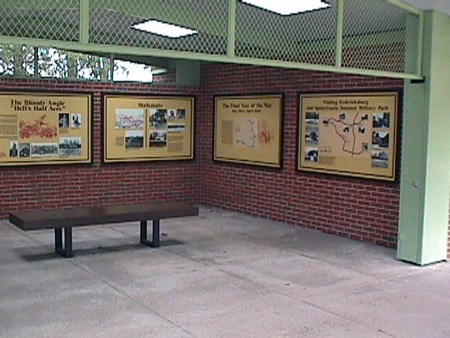 Spotsylvania Exhibit Shelter