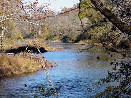 Germanna Ford on the Rapidan River