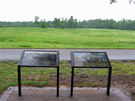 Interpretive Signs for Harrison House Site