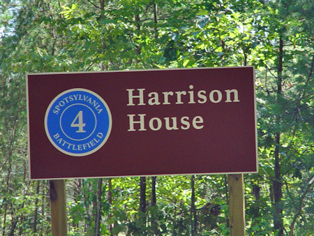 Tour Stop #4 sign, Harrison House