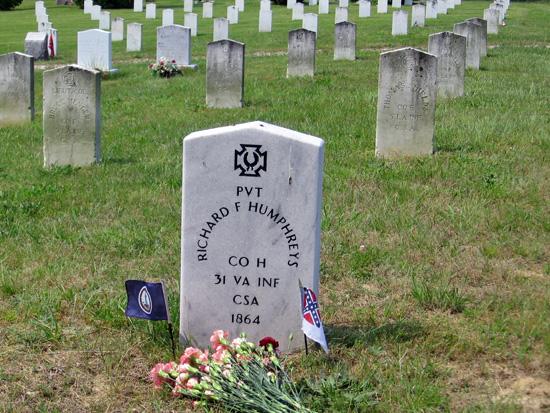 Virtual Tour Stop Spotsylvania Confederate Cemetery Fredericksburg Amp Spotsylvania National