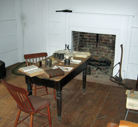 Room used by Jackson staff and doctors as a conference room