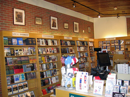 Chancellorsville Battlefield Bookstore