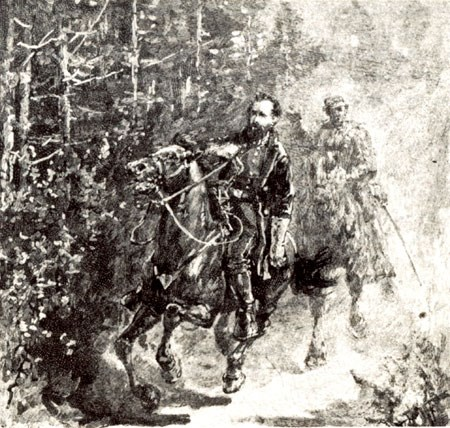 Sketch of Jackson's wounding