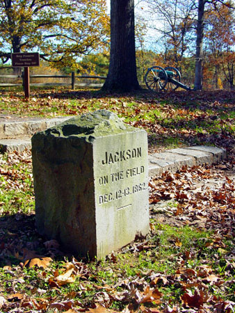Jackson's Command Post Monument