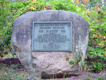 Maury Birthplace Monument
