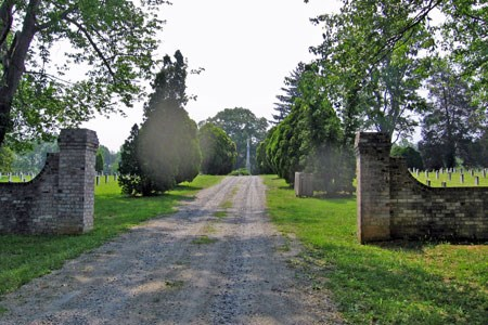 Entrance to Spotsylvania Confederate Cemetery