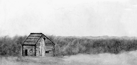 Sketch of Tapp House