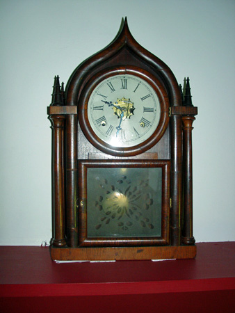 "Clock in room ""Stonewall"" Jackson died"