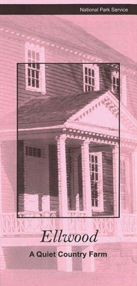 Ellwood Manor front on pink paper
