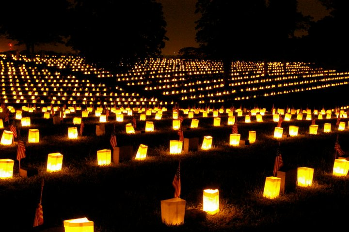 2011 National Cemetery Illumination