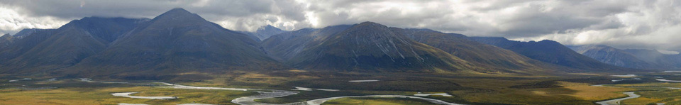 Image of mountains and river