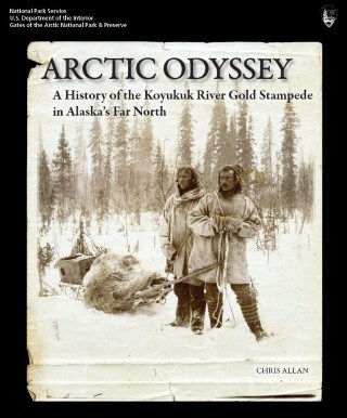 Cover of the Arctic Odyssey book by Chris Allan