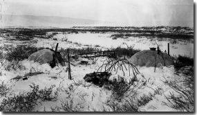 Traditional Nunamiut caribou skin houses & Caribou Skin Tents - Gates Of The Arctic National Park u0026 Preserve ...
