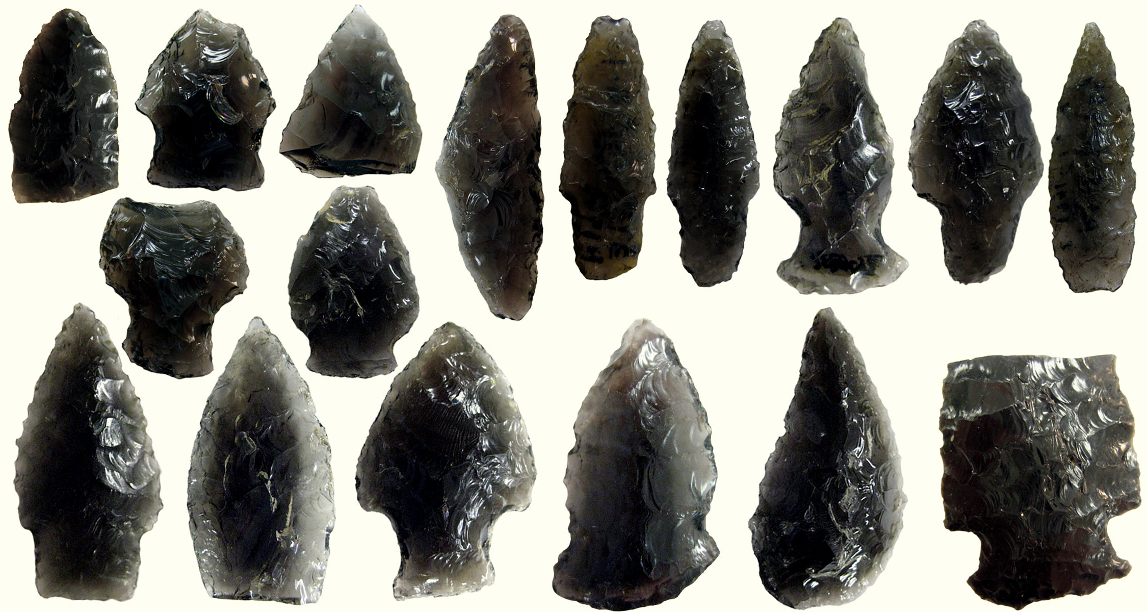 ما هو السَّبَج Obsidian-collection_1