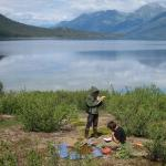 Archeologists at Walker Lake 1