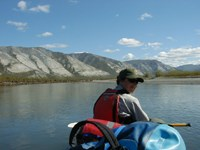 Ranger floating down the Noatak river.