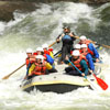 rafters running the rapids
