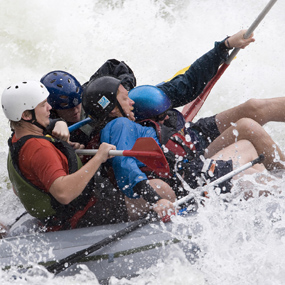 Wearing Lifejackets on the Gauley