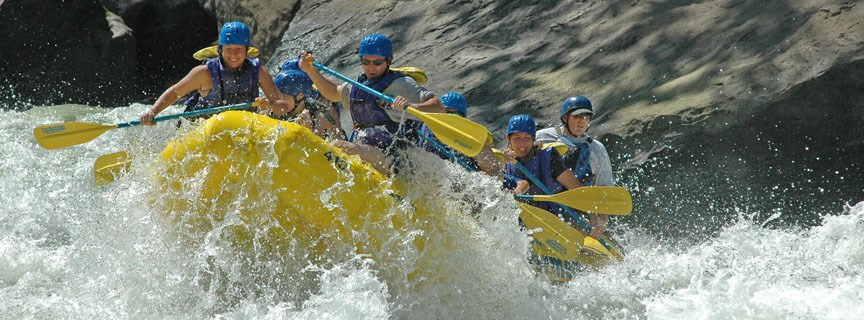 rafters enjoy Gauley Whitewater
