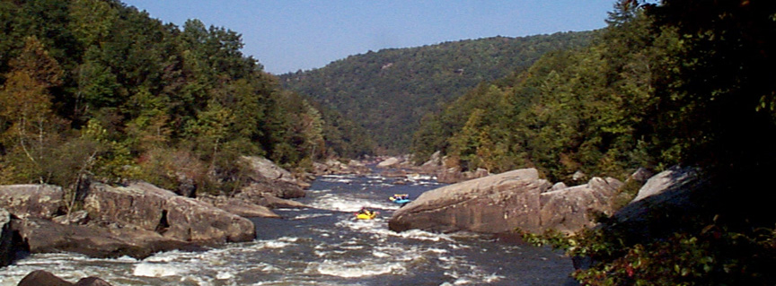 Rafters on the Gauley River
