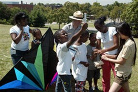 Junior Ranger Kite Program at Fort Wadsworth