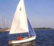 Sailing on Jamaica Bay