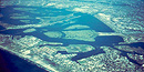 Aeiral view of the eastern portion of Jamaica Bay