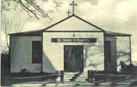 St. Mary's Chapel at Fort Hancock.