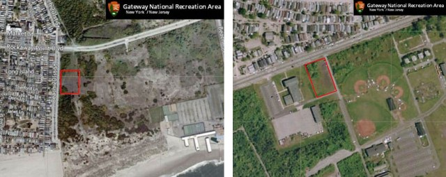 Aerial photos of West Beach and Hero Road show that these areas are natural areas.