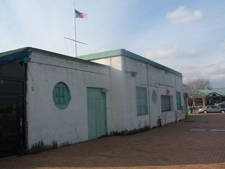 Building at Canarsie Pier for potential re-use.