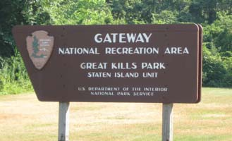 Great Kills Park Entrance Sign