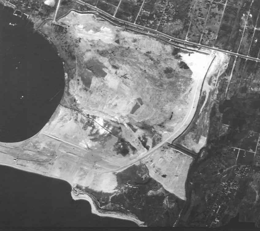 ariel image of Great Kills Park 1949