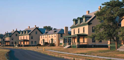 Fort Hancock Historic District, located at the northern end of Sandy Hook, served as an Army installation from the Spanish-American War through the nuclear age.