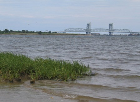 Jamaica Bay at high tide