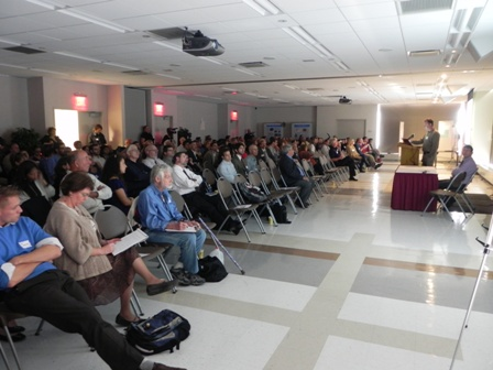 The State of the Bay symposium in October 2011 attracted over 250 scientists and citizens.