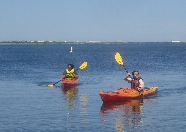 Kayak at Canarsie Pier this Wednesday with Gateway and the American Heart Association.