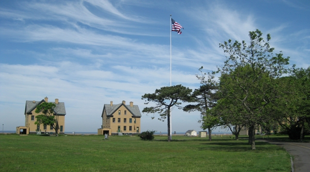 Fort Hancock, part of the Sandy Hook unit of Gateway